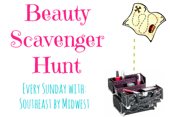 Beauty Scavenger Hunt on southeastbymidwest.com