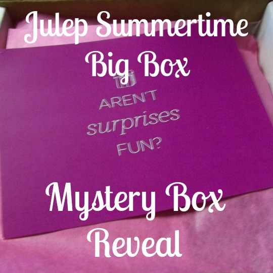Julep Summertime Big Box Reveal on southeastbymidwest.com