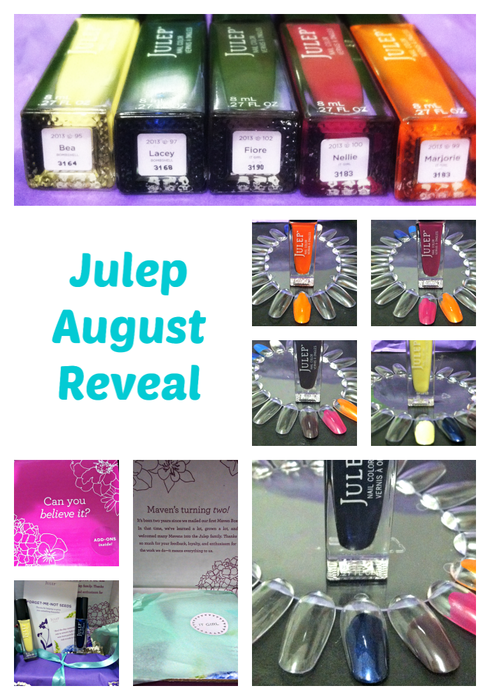 Julep August It Girl Reveal on southeastbymidwest.com