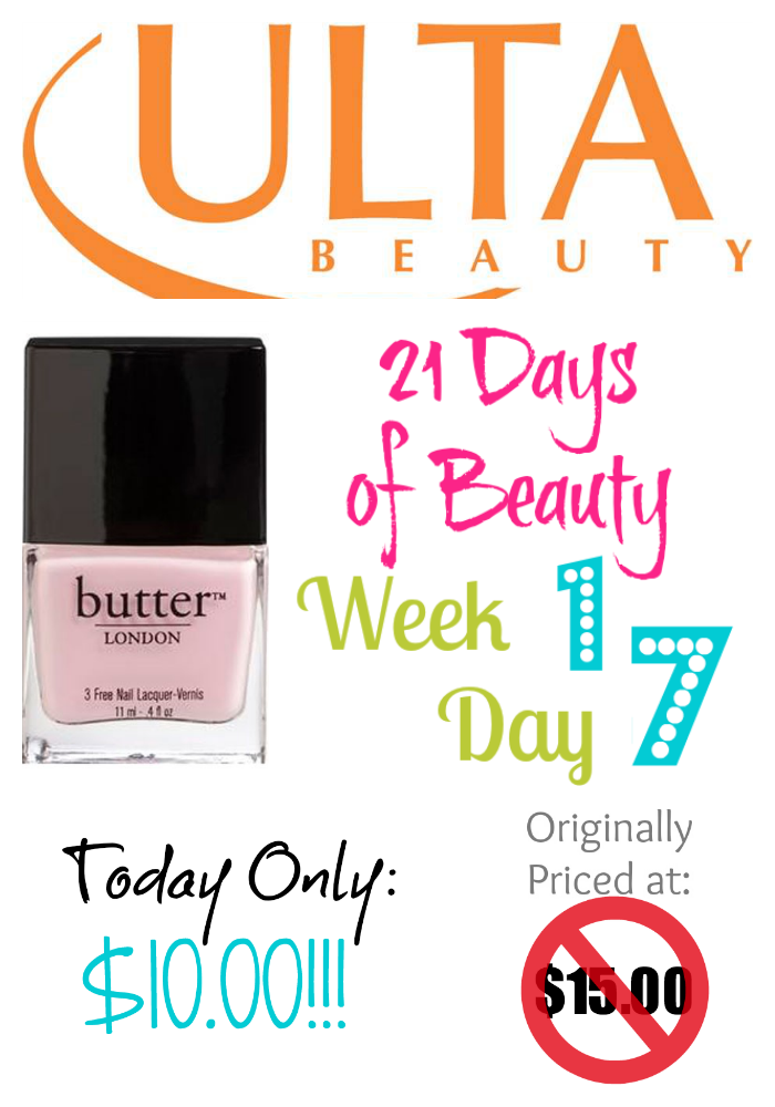 Ulta 21 Days of Beauty Week 1 Day 7 1st Deal on southeastbymidwest.com