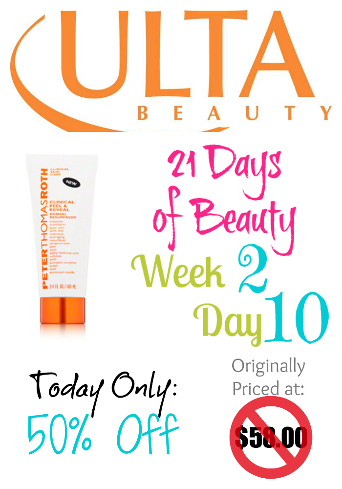 Ulta 21 Days of Beauty Week 2 Day 10 2nd Deal on southeastbymidwest.com