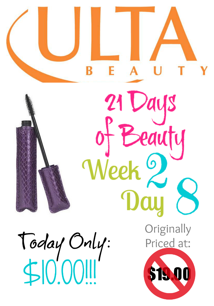 Ulta 21 Days of Beauty Week 2 Day 8 1st Deal on southeastbymidwest.com
