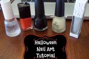 Halloween Nail Art Tutorial on southeastbymidwest.com