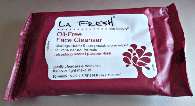 LA Fresh Oil-Free Face Wipes on southeastbymidwest.com