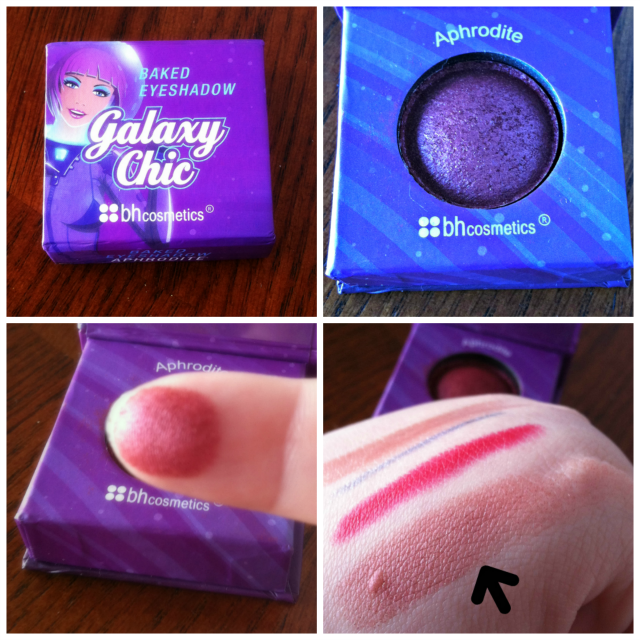 BH Cosmetics Galaxy Chic Shadow in Aphrodite on southeastbymidwest.com