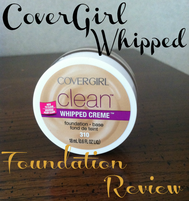 CoverGirl Whipped Foundation Review on southeastbymidwest.com