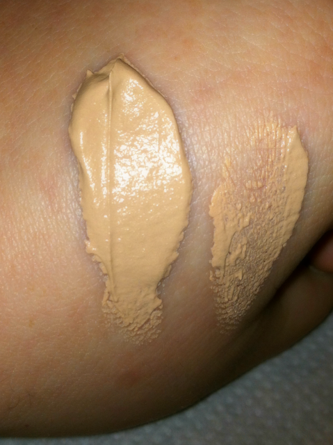 CoverGirl Whipped Foundation Swatch on southeastbymidwest.com