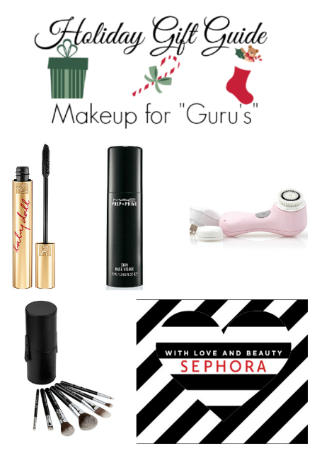"""Holiday Gift Guide: Makeup for """"Guru's"""" on southeastbymidwest.com"""