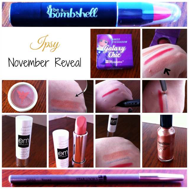 Ipsy November Reveal on southeastbymidwest.com
