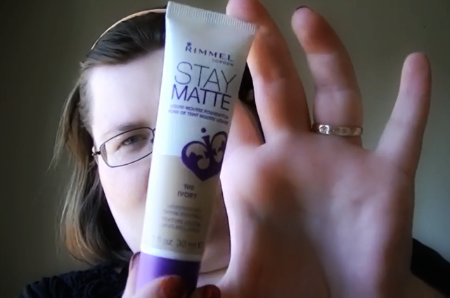 Rimmel Stay Matte Foundation on southeastbymidwest.com