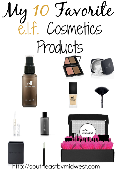10 Favorite ELF Cosmetics Products on southeastbymidwest.com