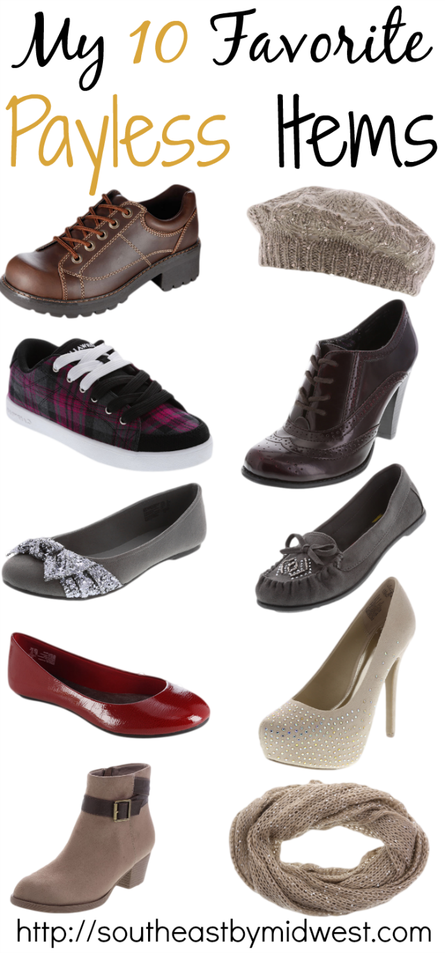 10 Favorite Payless Items on southeastbymidwest.com