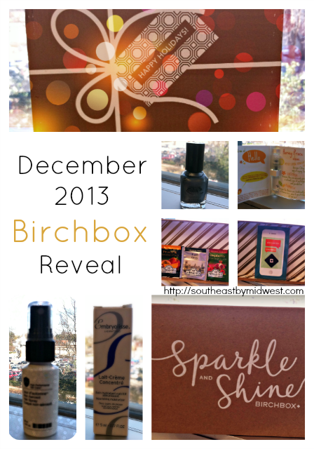 December 2013 Birchbox Reveal on southeastbymidwest.com