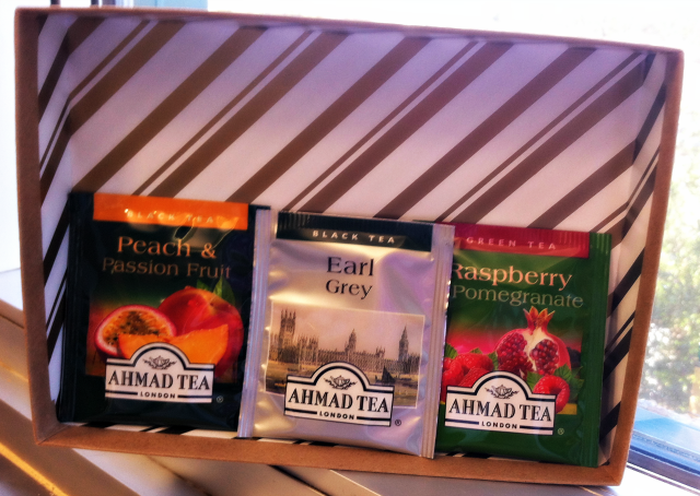Ahmad Assorted Fruit Teas from December Birchbox on southeastbymidwest.com