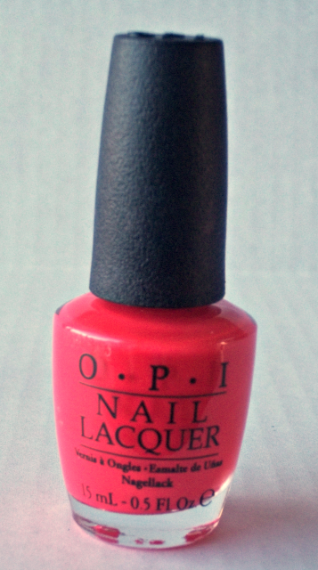 OPI Cajun Shrimp Nail Polish on southeastbymidwest.com