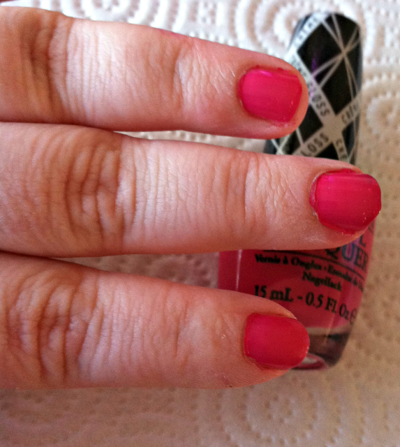OPI Hey Baby Nails Above Bottle Shade on southeastbymidwest.com