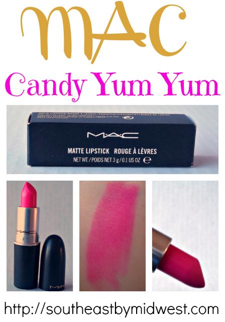 MAC Candy Yum Yum on southeastbymidwest.com