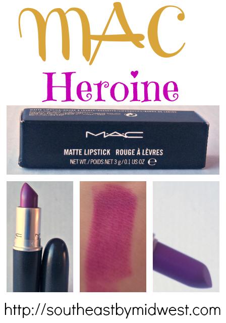 MAC Heroine on southeastbymidwest.com