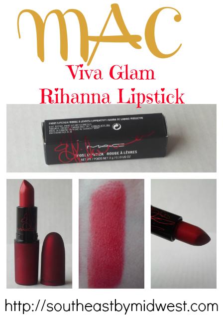 MAC Viva Glam Rihanna Lipstick on southeastbymidwest.com