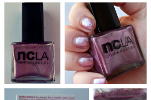 ncLA Nail Polish Let's Pop Bottles...Pink Champagne Review and Photos on southeastbymidwest.com