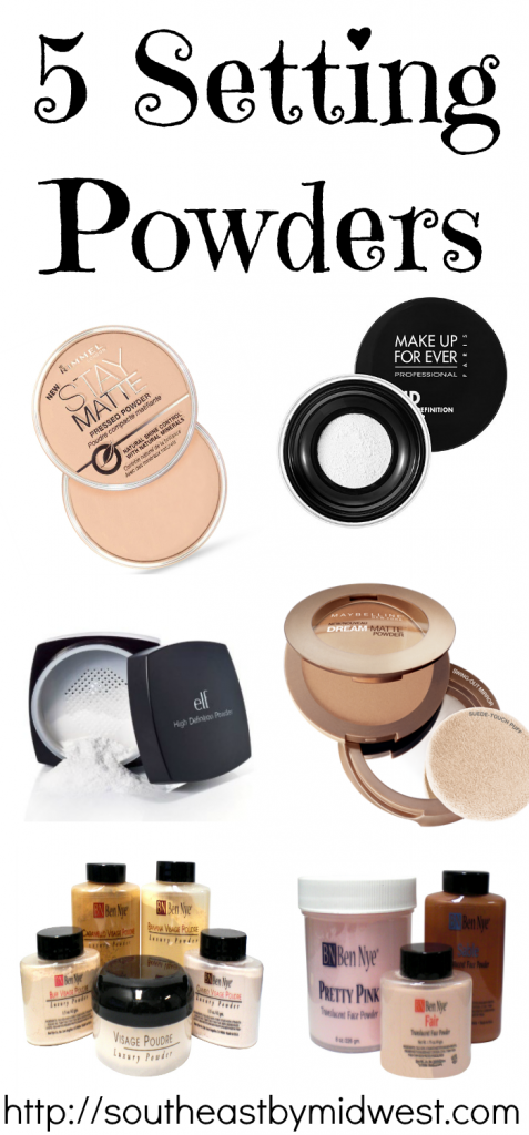 5 Setting Powders on southeastbymidwest.com
