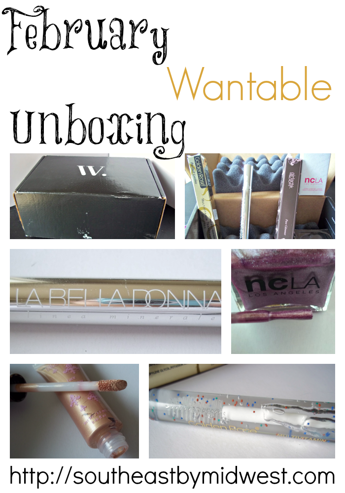 February Wantable Unboxing on southeastbymidwest.com