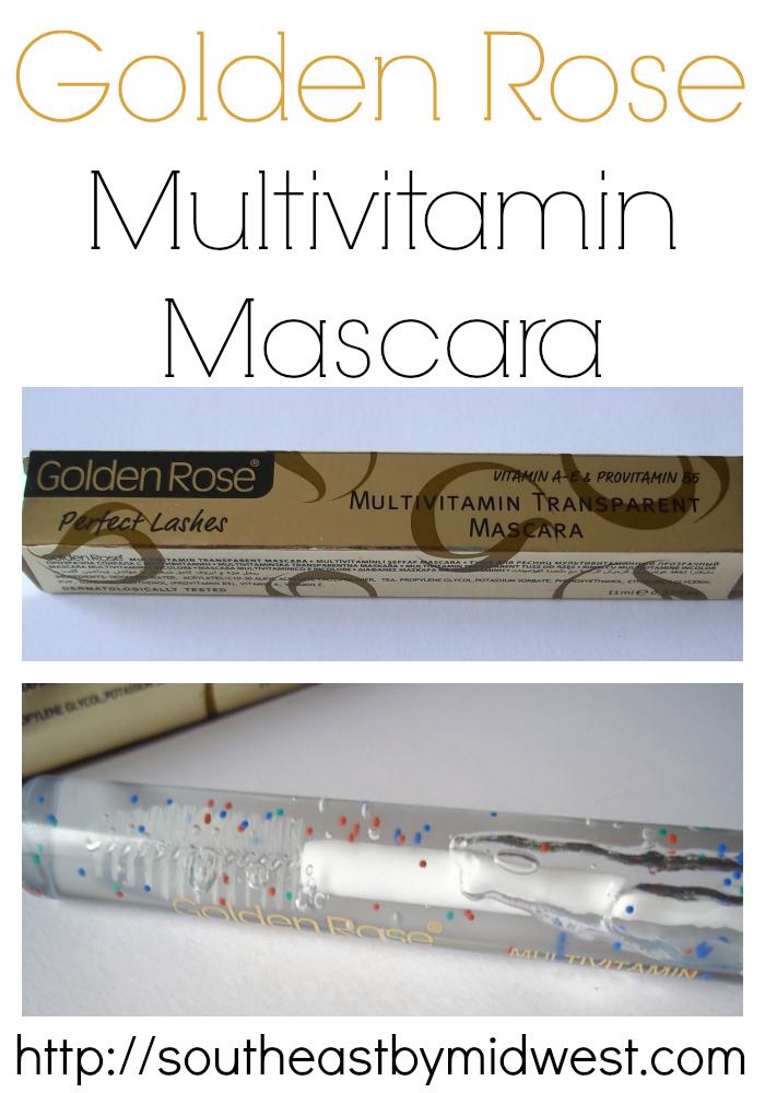 Golden Rose Multivitamin Mascara on southeastbymidwest.com