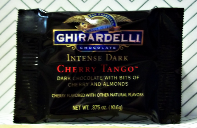 March Birchbox Ghirardelli Cherry Tango Dark Chocolate Square on southeastbymidwest.com #birchbox #bblogger #chocolate #ghirardelli