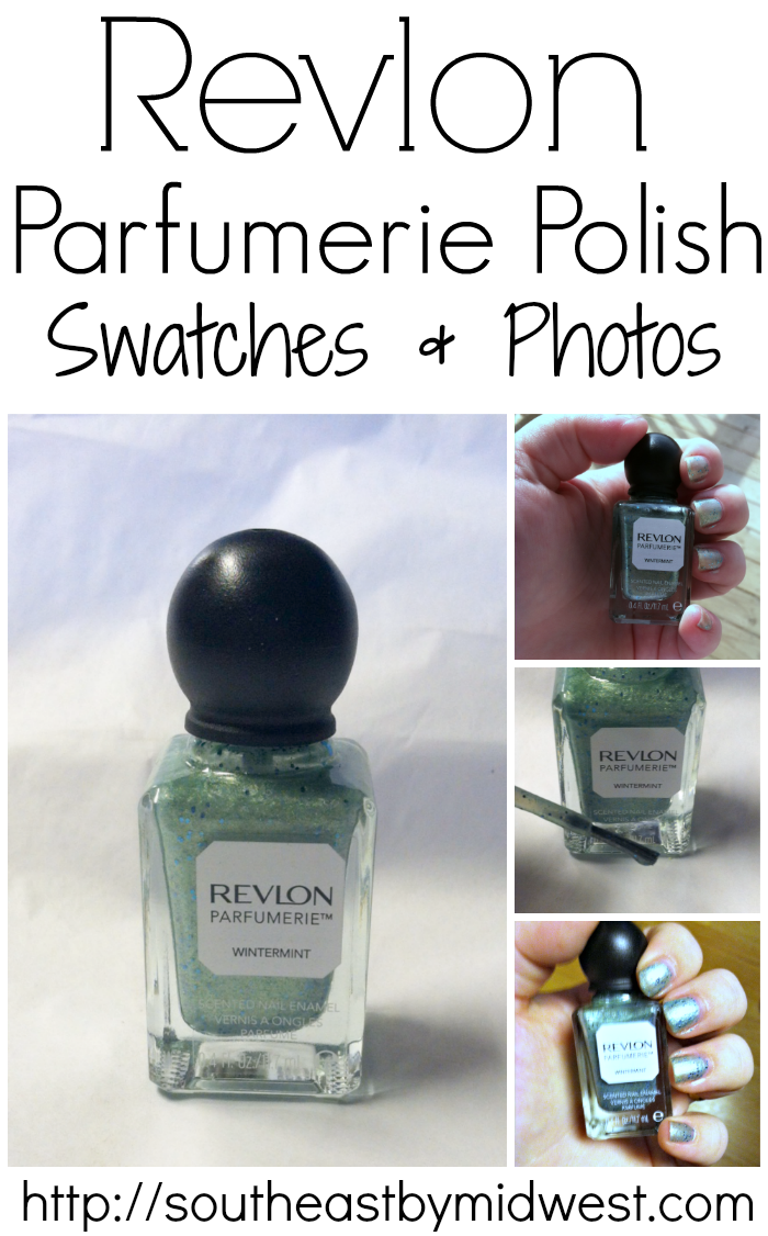 Revlon Scented Nail Polish in Wintermint Swatches, Photos, and Review on southeastbymidwest.com #nails #nailart #bbloggers #revlon