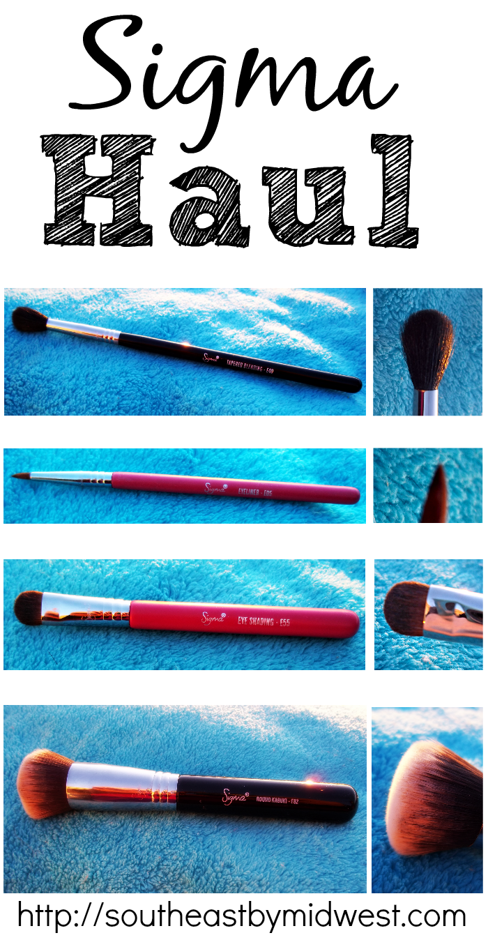 Sigma Haul on southeastbymidwest.com #sigma #sigmabrushes #sigmahaul #beauty #beautyhaul #bblogger