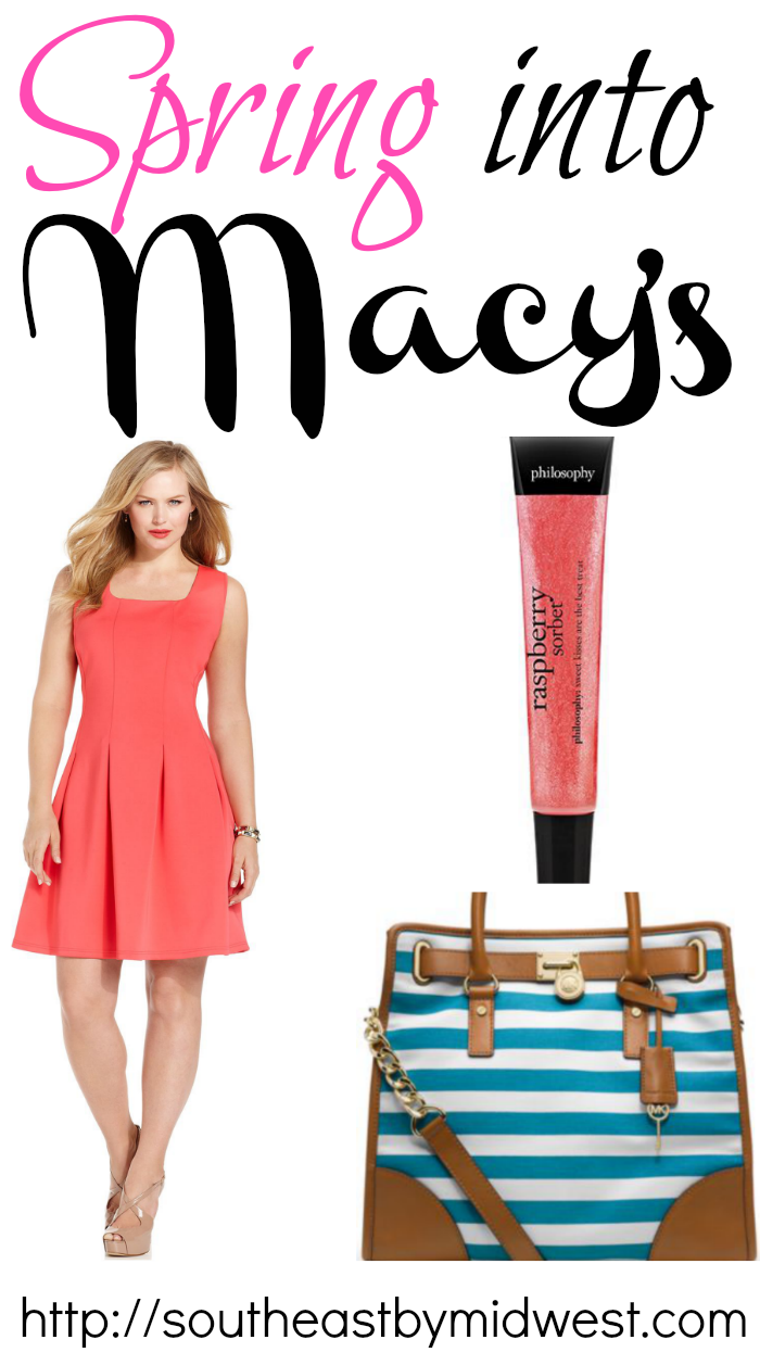 Spring into Macy's with 3 Pieces and a Flash Giveaway on southeastbymidwest.com #SpringIntoMacys #giveaway #sponsored