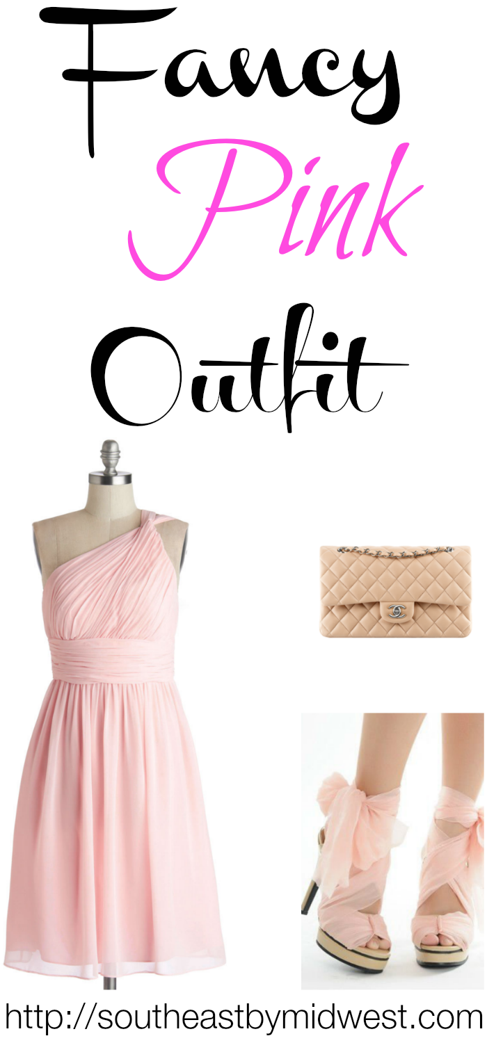 On Wednesday's We Wear Pink Fancy Outfit on southeastbymidwest.com #fashion #meangirls