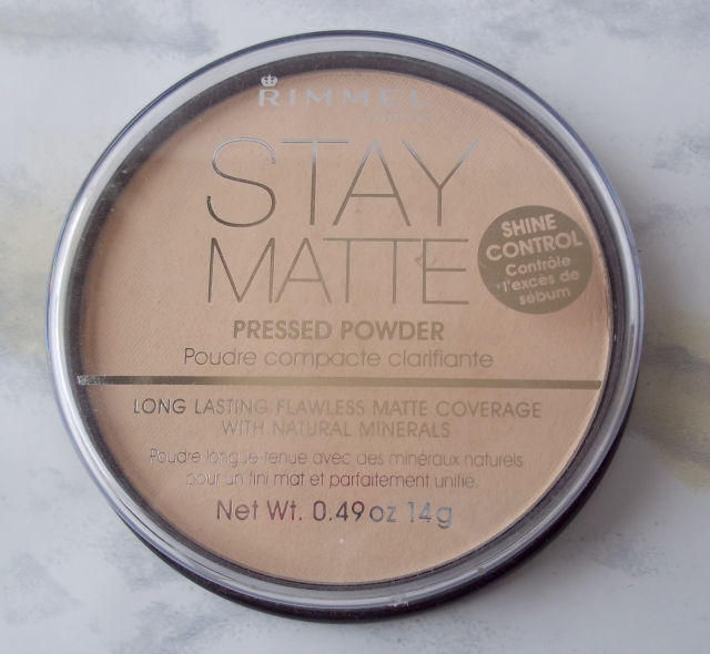 Stay Matte Pressed Powder by Rimmel #22