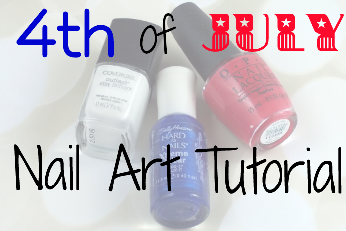 4th of July Nail Art Tutorial on southeastbymidwest.com #nailart #notd #nails #beauty #beautyblogger #bblogger #4thofjuly