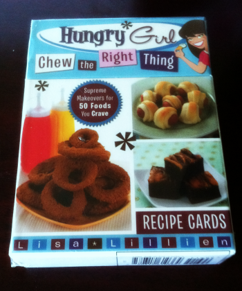 Hungry Girl Recipe Cards on southeastbymidwest.com #peoplevip #beautyblogger #bblogger #kloutperk #hungrygirl