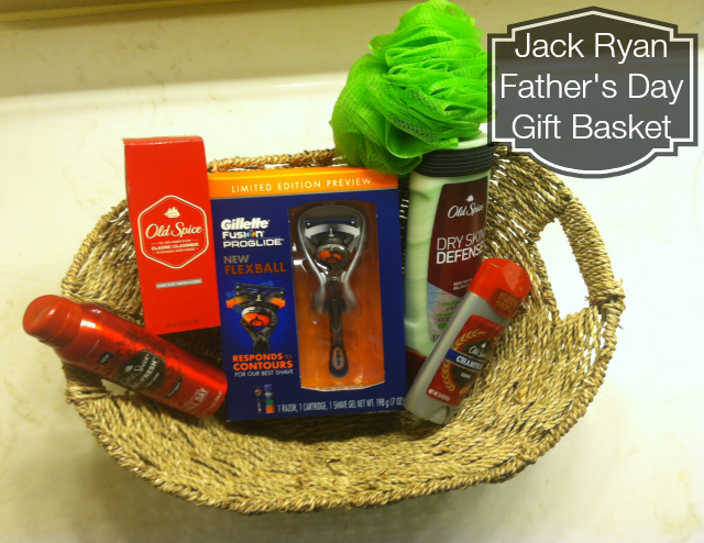 Jack Ryan Father's Day Gift Basket on southeastbymidwest.com #cbias #shop #JackRyanBluRay