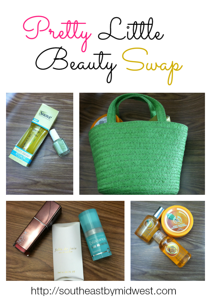 Pretty Little Beauty Swap Reveal on southeastbymidwest.com #beauty #beautyblogger #bblogger #swap