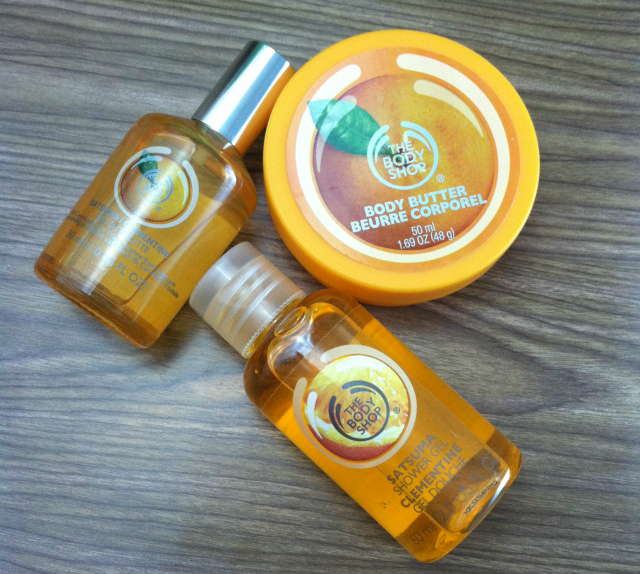 Pretty Little Beauty Swap The Body Shop Satsuma Collection on southeastbymidwest.com #beauty #beautyblogger #bblogger #swap #bodyshop #satsuma