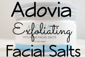 Adovia Exfoliating Facial Salts Featured Image on southeastbymidwest.com #beauty #beautyreview #bblogger #adovia
