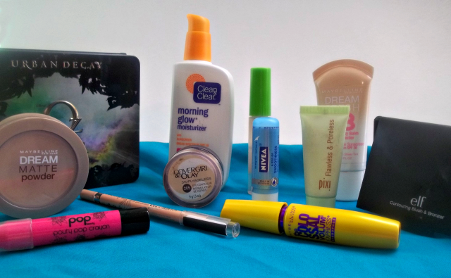 Go to Summer Makeup Look Products on southeastbymidwest.com #beauty #beautyblogger #bblogger #makeup #urbandecay #maybelline #popbeauty #covergirl #rimmel #cleanandclear #nivea #elf #pixi