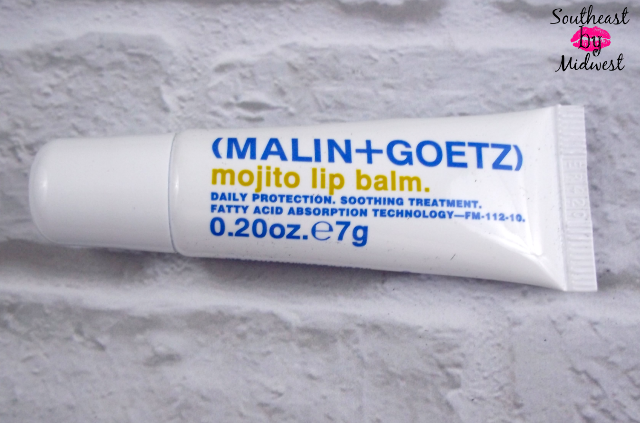 July Glossybox Malin and Goetz Mojity Lip Balm on southeastbymidwest.com #beauty #bblogger #glossybox
