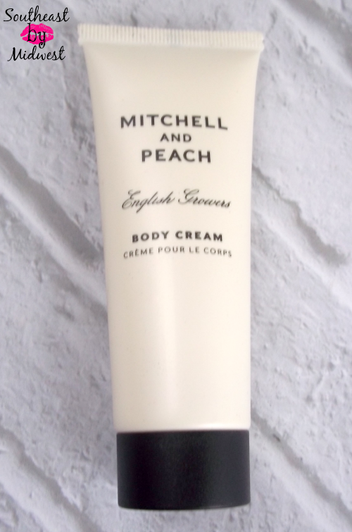 July Glossybox Mitchell and Peach Body Cream on southeastbymidwest.com #beauty #bblogger #glossybox