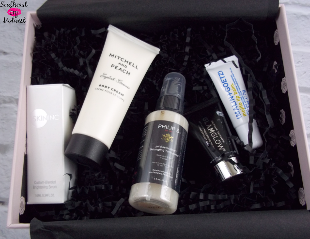 July Glossybox Products on southeastbymidwest.com #beauty #bblogger #glossybox