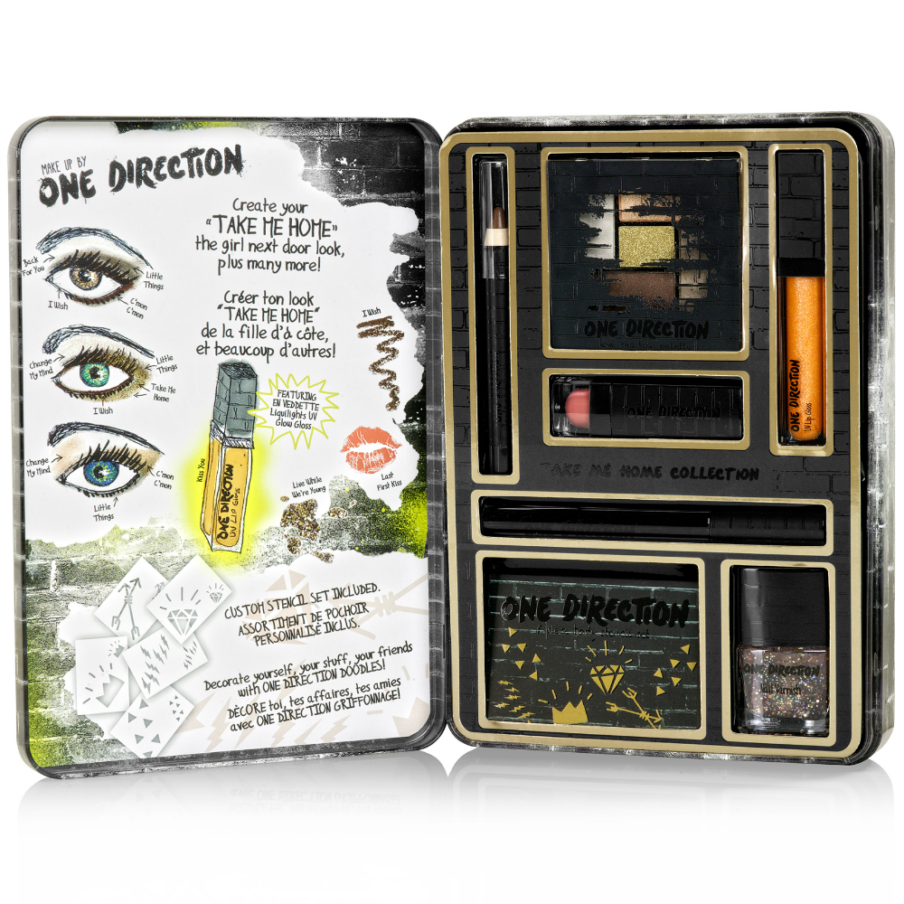 Makeup by One Direction Take Me Home Set on southeastbymidwest.com #giveaway #beauty #bblogger #makeup #onedirection #makeupby1D   #thelookscollection #markwins