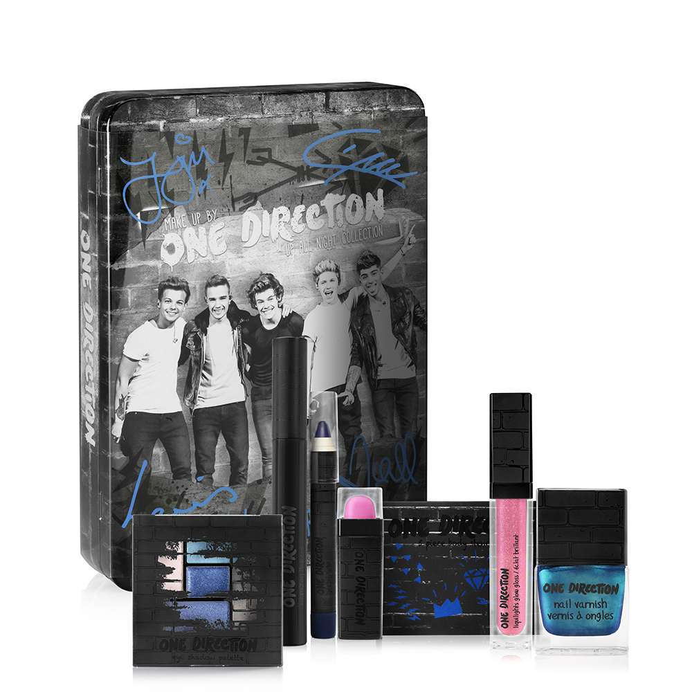 Makeup by One Direction Up All Night Set on southeastbymidwest.com #giveaway #beauty #bblogger #makeup #onedirection #makeupby1D   #thelookscollection #markwins