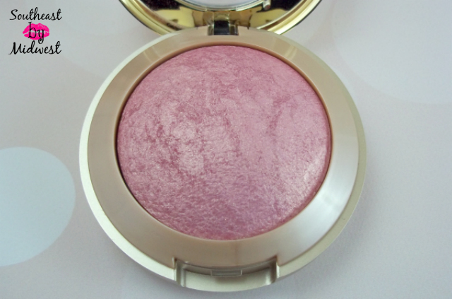 Milani Baked Blush in Dolce Pink Opened on southeastbymidwest.com #beauty #bblogger #beautyblogger #beautyreview #milani