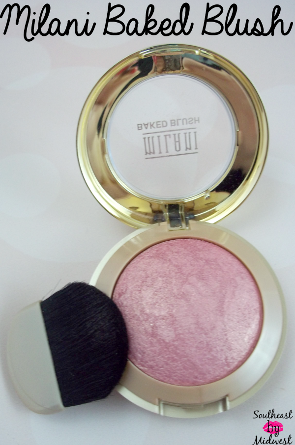 Milani Baked Blush in Dolce Pink on southeastbymidwest.com #beauty #bblogger #beautyblogger #beautyreview #milani