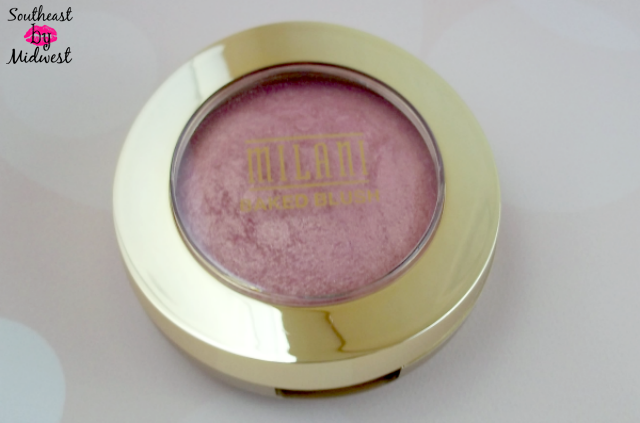Milani Baked Blush in Dolce Pink Packaging on southeastbymidwest.com #beauty #bblogger #beautyblogger #beautyreview #milani