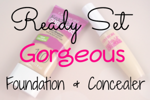 Ready Set Gorgeous Foundation and Concealer Featured Image
