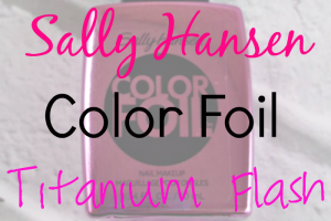 Sally Hansen Color Foil Titanium Flash Featured Image on southeastbymidwest.com #nailart #notd #sallyhansen #manimonday